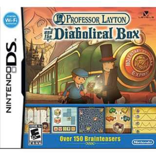 [IN STOCKS] Professor Layton and the Diabolical/Pandora Box DS/2DS/3DS Cartridge