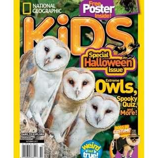 Ebook National Geographic Kids — October 2017