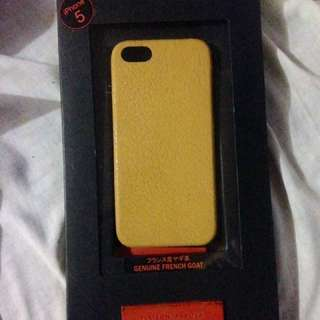 Leather case for iphone 5, 5s, 5se