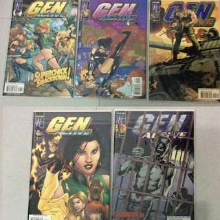 Gen Active #1 -3 + Variants