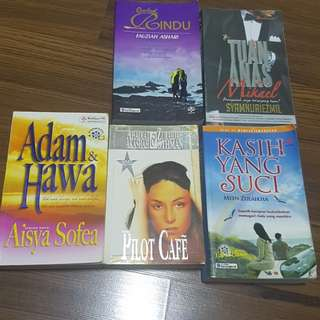 Malay Novels - 5 books
