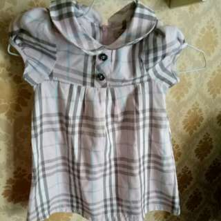 Dress anak bluberry