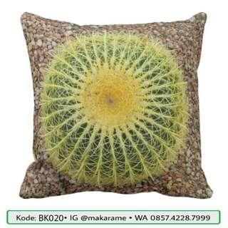 Bantal Kaktus Sukulen Custom Printing Murah Berkualitas