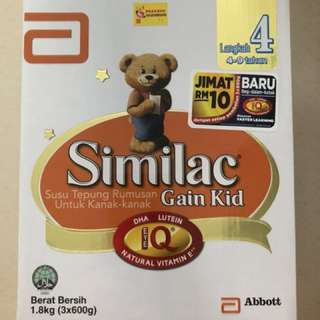 Similac Gain Kid Stage 4