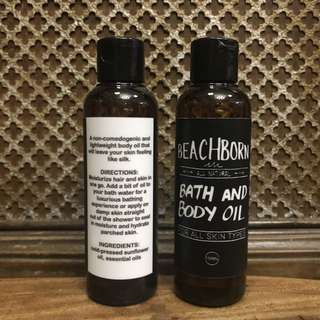 Beach Born Bath and Body Oil
