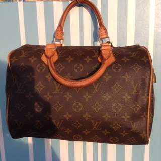 Authentic LV speedy 30, preloved
