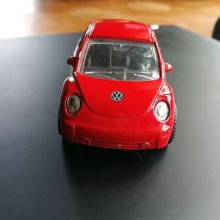 Volkswagen Beetle Collectible Item Red