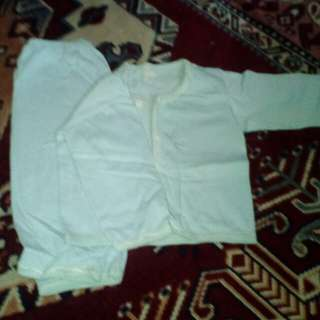 Preloved baju new born