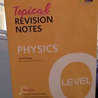 Brand New O Level Physics Revision Guide/ Notes