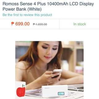 Romoss Sense 4 Powerbank