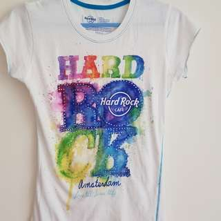 Authentic Hardrock tshirt