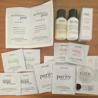 Philosophy Cult Cleanser Tester Set