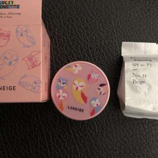 Laneige limiter Edition BB Cushion whitening with Free Gifts