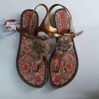 Original grendha and zaxy shoes and sandals