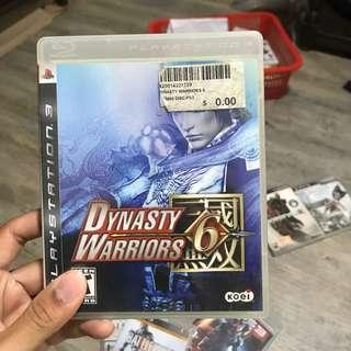 Dynasty Warrior 6 (PS3)