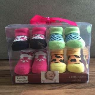 New Baby Girl Socks
