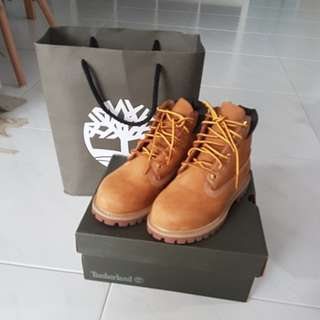 Timberland toddler's / petits waterproof boots