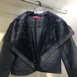 Midnight Blue Chic Jacket