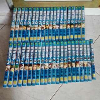 网球王子。The prince of tennis. Completed set of Book 1 to 42.