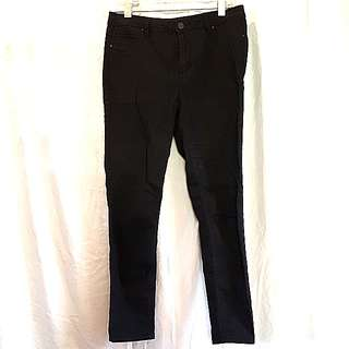 New Black slimfit pants