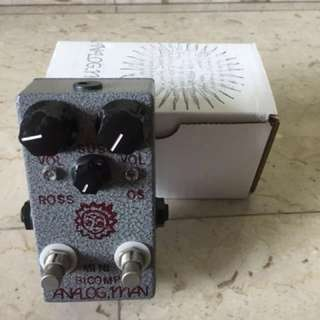 Analog Man Mini Bi-Comp Compressor sustainer Boost USA Ross Orange Squeeze Guitar Effect Pedal Stompbox