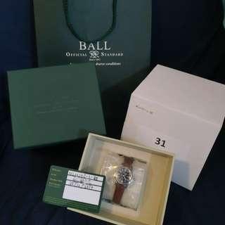 全新 Ball 女裝皮帶手錶