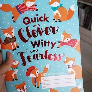 Fox note book