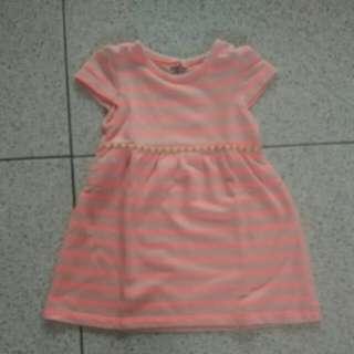 #makintebel Bibo Dress Baby stripes