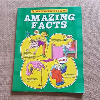 Illustrated book of amazing facts