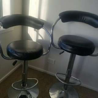 2 x Bar/breakfast chairs for sale for both