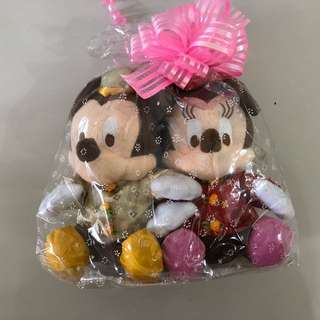 Mickey Mouse Couple Plush Toy