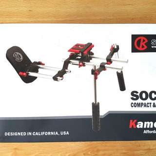 KAMERAR Socom Video Shoulder Rig cnc aluminium - NEW