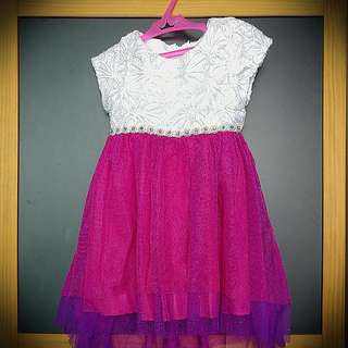 #Huat50Sale Rare Editions Lace Embroidered Baby Girl Dress