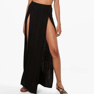 Boohoo split skirt