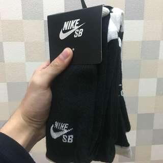 Nike長筒襪 全新三雙