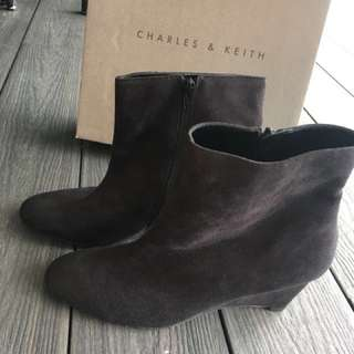 C&K black calf boots (only worn once!)
