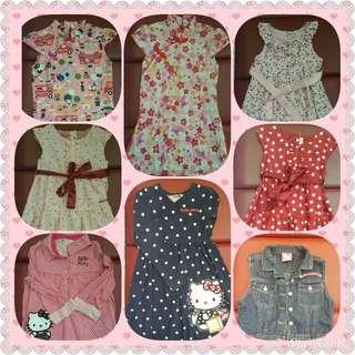 Preloved Hello Kitty dresses/Tops