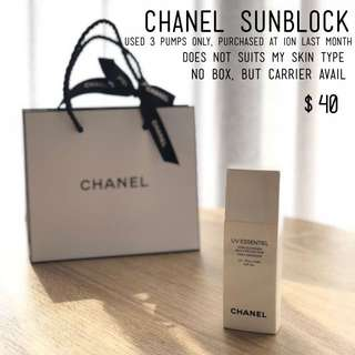 Chanel sunblock
