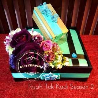 Gubahan hantaran / wedding gift tray decor