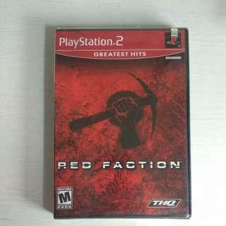 PS2 Original Red Faction Game [Sealed]