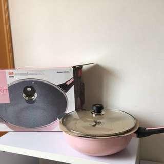 韓國牌子 32cm 雲石陶瓷鍋