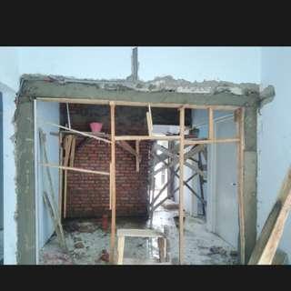 Jasa renovasi rumah,bocoran atap dll