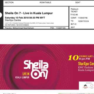 Sheila on 7 concert
