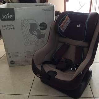 Joei car seat mahogany