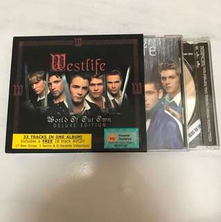 Original Westlife World of our own Deluxe edition album