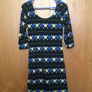 Simple dress body fit