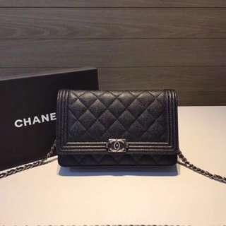 Chanel LeBoy WOC🎊Premium🎊