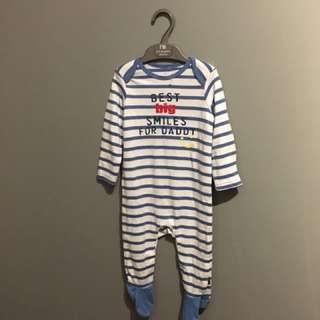 BNWT Mothercare Sleepsuit (6-9mth)
