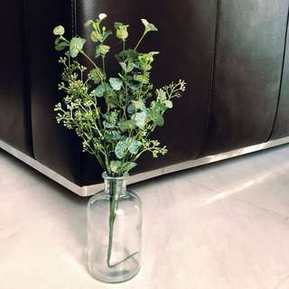 💐YourStalkMarket - Rustic Artificial Plant Jar Decoration Candy Table