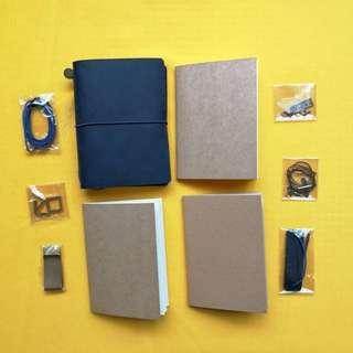 Blue TN travelers notebooks